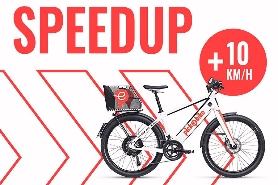 Pick-e-Bike Speed Upgrade
