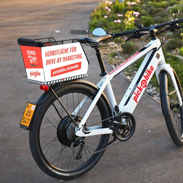 Werbeflächen Schaltkosten Pick-e-Bike